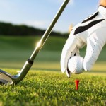 golfing-on-golf-course